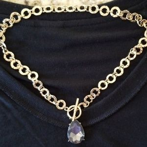 """9"""" short toggle necklace"""